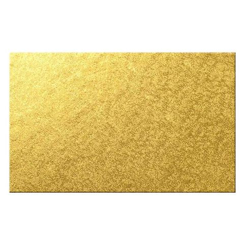 CAKE BOARD | GOLD | 16 X 14 INCH | RECTANGLE | MDF | 6MM THICK