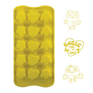 GIGGLE AND HOOT - SILICONE CHOCOLATE MOULD
