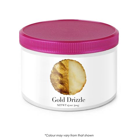 CAKE CRAFT   DRIZZLE   GOLD   14.1OZ/400G