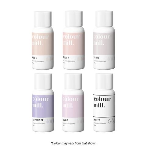 COLOUR MILL | NUDE 6 PACK | FOOD COLOUR | 6 x 20ML