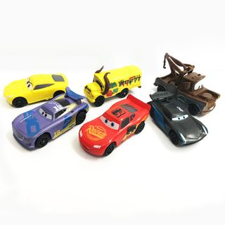 CARS | PLASTIC FIGURINES |  6 PIECE SET
