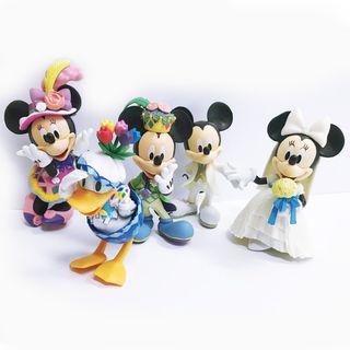 MICKEY MOUSE | PLASTIC FIGURINES | 5 PIECE SET