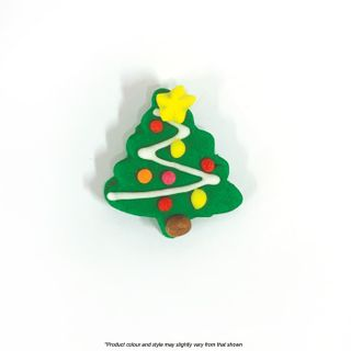 CAKE CRAFT   CHRISTMAS TREE SMALL   SUGAR DECORATIONS