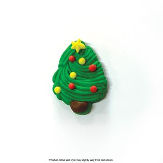 CAKE CRAFT   CHRISTMAS TREE LARGE   SUGAR DECORATIONS
