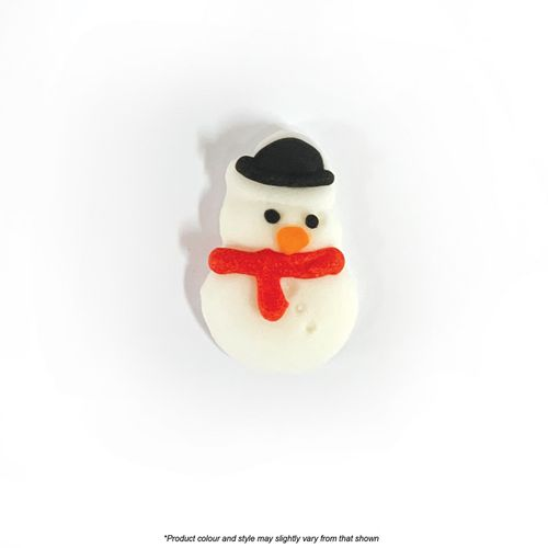 CAKE CRAFT | SNOWMAN WITH SCARF | SUGAR DECORATIONS