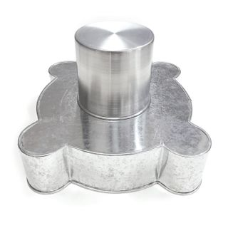 CASTLE 3D PAN 2 PIECE SET - ROUNDED BASE AND ROUND TOWER