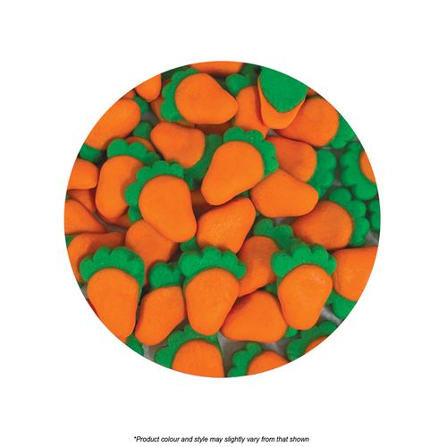 CAKE CRAFT   CARROT   ICING DECORATIONS   480 PIECES