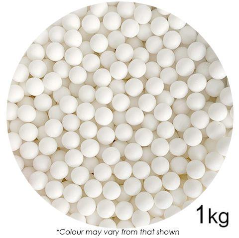 SPRINK'D | SUGAR BALLS | WHITE | 8MM | 1KG