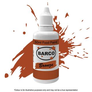 BARCO | QUICK DRY FOOD PAINT | BRONZE | 50ML