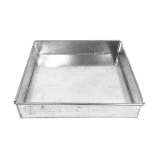 8 INCH - 20CM SQUARE LAYER CAKE PAN - 1.5 INCH 3.5CM TALL