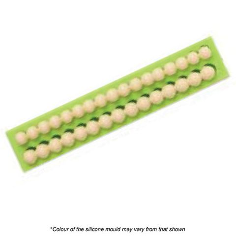 BEADS - 2 ROWS SILICONE MOULD