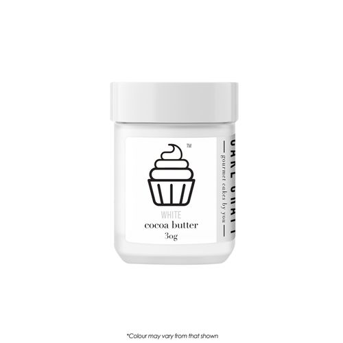 CAKE CRAFT   COCOA BUTTER   WHITE   30G