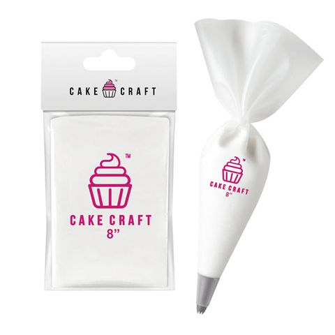 CAKE CRAFT | COTTON PASTRY/PIPING BAG | 8 INCH