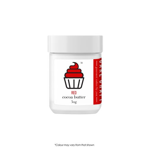 CAKE CRAFT   COCOA BUTTER   RED   30G