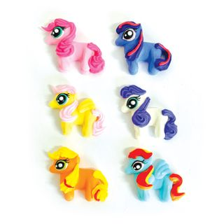 LITTLE PONY/PONIES (72) | SUGAR DECORATIONS