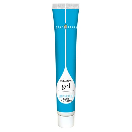 CAKE CRAFT   COLOURING GEL   ELECTRIC  BLUE   30G