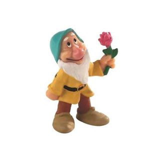 DISNEY PRINCESS - SNOW WHITE - DWARF BASHFUL TOPPER
