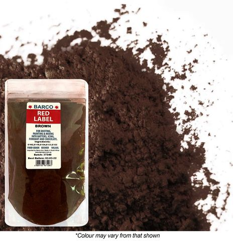 BARCO   RED LABEL   BROWN   DUST   100G