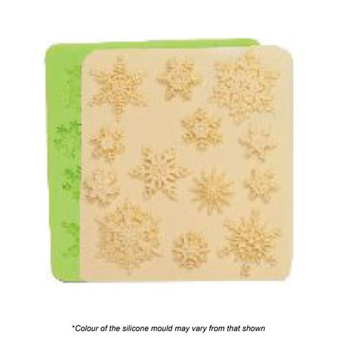 ASSORTED SNOWFLAKE SILICONE MOULD