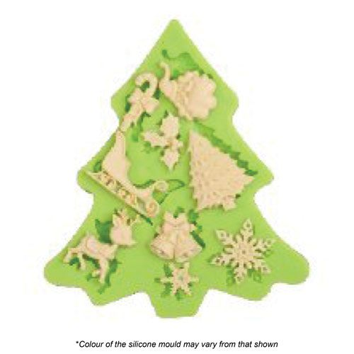 CHRISTMAS ASSORTMENT SILICONE MOULD