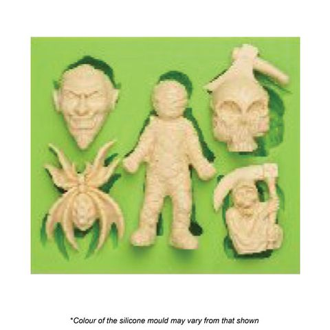 HALLOWEEN SCAREY'S SILICONE MOULD