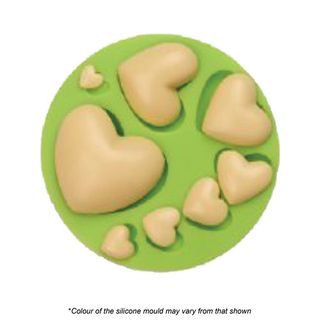ASSORTED HEART SILICONE MOULD