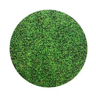 CAKE BOARD | GRASS DESIGN | 8 INCH | ROUND | MDF | 6MM THICK