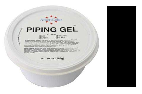 AMERICOLOR - BLACK  PIPING GEL 10 OZ TUB