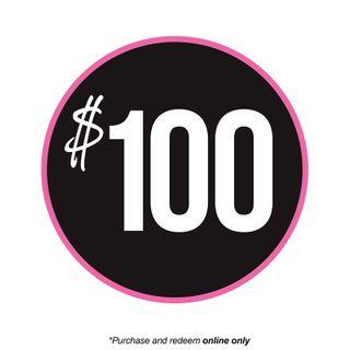 GIFT VOUCHER | $100