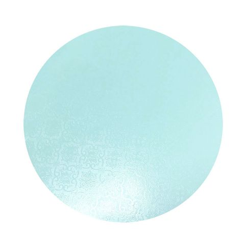 CAKE BOARD | BLUE | 7 INCH | ROUND | MDF | 6MM THICK