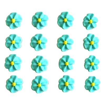 APPLE BLOSSOM SUGAR FLOWERS (168)  BLUE