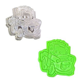 DISNEY CARS - 5 - TOW PLUNGER CUTTER