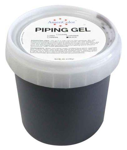 AMERICOLOR - BLACK PIPING GEL 5LB TUB