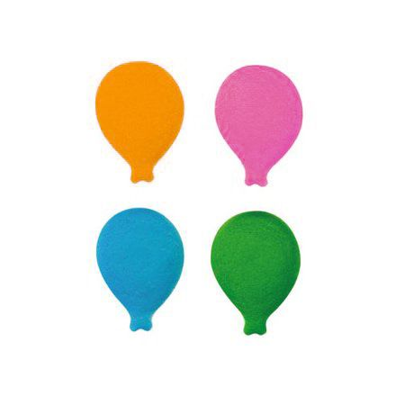 BOUQUET BALLOON ASSORTED DEC-ON (296) - RED, PINK, BLUE OR GREEN SUGAR DECORATIONS
