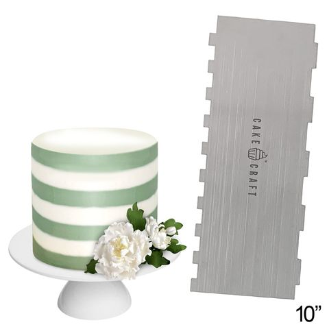 CAKE CRAFT | BUTTERCREAM COMB | THICK STRIPES | 10 INCH