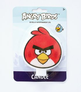 ANGRY BIRDS - FLAT CANDLE (6)