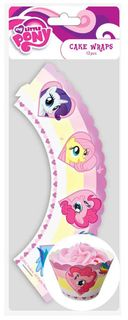 MY LITTLE PONY - CUPCAKE WRAPS (12 PC)