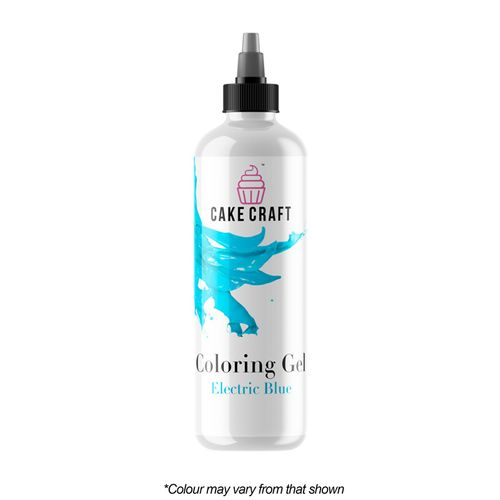 CAKE CRAFT   COLOURING GEL   ELECTRIC BLUE   250G