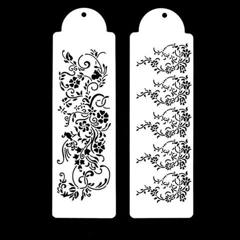 FLORAL STENCIL SET | 2 PIECES