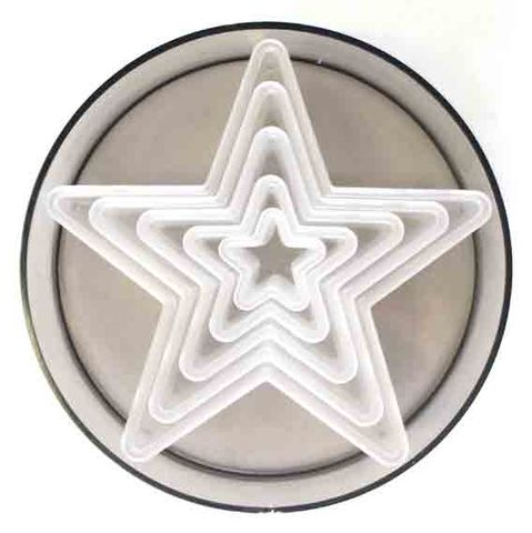 PLAIN STAR CUTTER (5 PC SET)