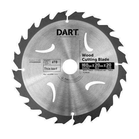 160MM TIMBER BLADE - 20T FAST CUT