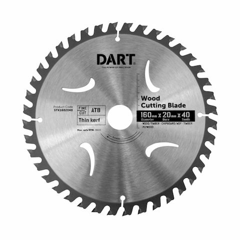 160MM TIMBER BLADE - 40T FINE CUT