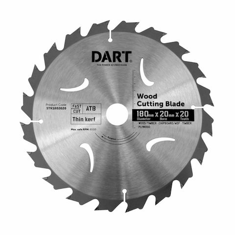 180MM TIMBER BLADE - 20T FAST CUT
