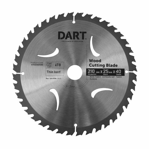 216MM TIMBER BLADE - 40T MEDIUM CUT