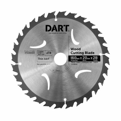 150MM TIMBER BLADE - 28T MEDIUM CUT