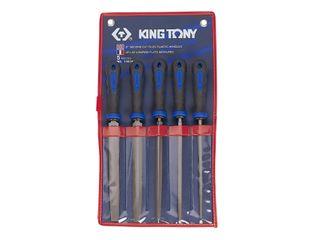 "KING TONY 5PC 8"" 2ND CUT FILE SET"