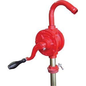 GROZ ROTARY BARREL PUMP W/3PC RIGID SUCTION TUBE GNB-25
