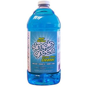 SIMPLE GREEN GLASS CLEANER 2L
