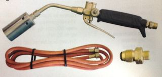 GAS - AIR - PROPANE HEATING KIT