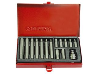 KING TONY 11PC HEX BIT SET